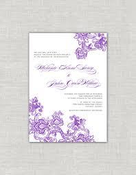 indian wedding invitations chicago purple wedding invitations plum tone invitations ornate