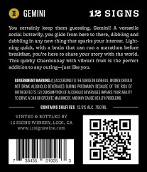 gemini wine 12 signs wine