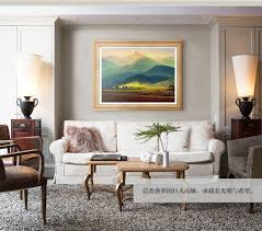 european style decorative oil painting for living room restaurant