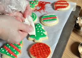 Christmas Cutout Decorations Soft Cutout Eggnog Cookies Baking Bites