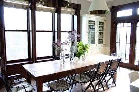dining room design bright dining room with large window allowing