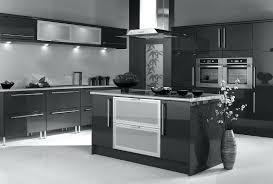 glossy finish kitchen cabinets black high gloss