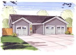 3 car garage plus carport 62479dj architectural designs