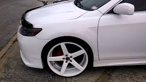 toyota camry custom camry on 22 rims wheels full custom walk around youtube