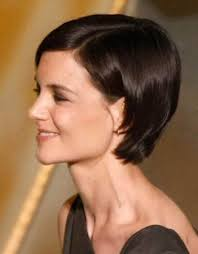 short hair cuts from behind katie holmes hairstyles inspirational short hair tucked behind ears