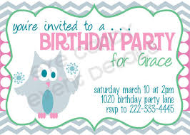 happy birthday invitation cloveranddot com