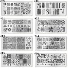 aliexpress com buy 5pcs lot lace nail art stamping plates metal
