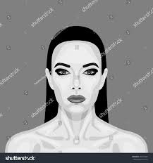 black white vampire woman halloween vector stock vector 334179266
