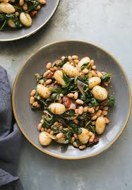 comment cuisiner des gnocchis spinach and gnocchi with white beans from power plates a giveaway