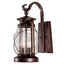 Vintage Outdoor Lights Palisade Outdoor Wall Lantern 17 Inch