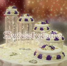 wedding cake display popular wedding cake stand set buy cheap wedding cake stand set