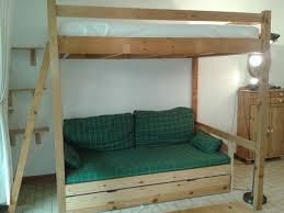 canap mezzanine lit mezzanine 2 places avec canap simple lit mezzanine canap lit