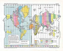Is Time Zone Map by Evercontact Blog