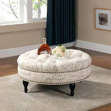 tufted coffee table ottoman ideal for home decor fascinating