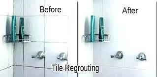 Regrout Bathroom Shower Tile How To Regrout Shower Bathroom Tile For Inspirations Shower