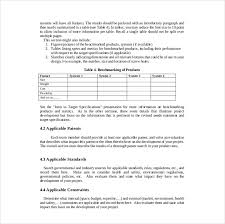 16 project report template free sample example format