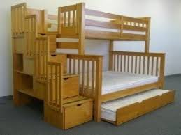 Wildon Home Twin Over Full Bunk Bed With  Storage Drawers - Twin over full bunk bed with storage drawers