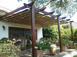 Pergola With Awning by Images Tagged