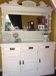 Antique Painted Sideboard European Paint Finishes Antique Sideboard W Mirror