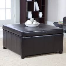 gray leather ottoman coffee table coffee table grey leather ottoman coffee table tufted storage