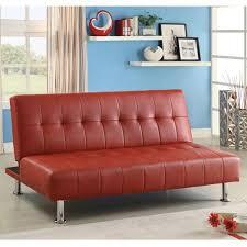 Leather Futon Sofa Futons U0026 Futon Accessories Faux Leather Sears