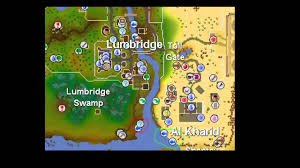 Oldschool Runescape World Map by Old Runescape How To Get 1 20 Fishing Fast And Easy 2007