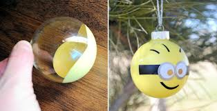 how to make minion ornaments diy crafts handimania