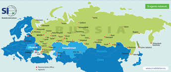 Ukraine On World Map by International Educational Exhibitions In Russia