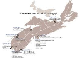 Map Of Nova Scotia Foodarc Activating Change Together For Community Food Security