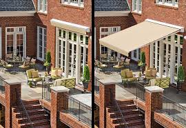 Sunbrella Retractable Awning Prices Retractable Awnings Made In Usa