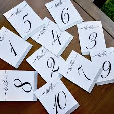 silver wedding table numbers table number signs 1 10 silver wedding table numbers handmade in