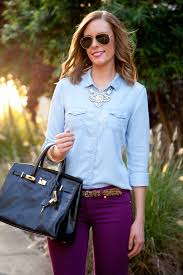style statement necklace images Style sessions how to wear colored jeans jpg