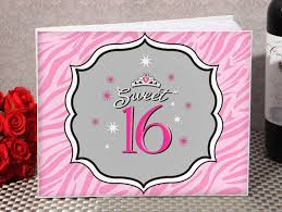 sweet 16 guest book tiara sweet 16 guest book guest books pen sets signature