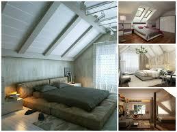 decoration chambre comble avec mur incliné chambre avec plafond en pente 14 deco a coucher 2016 systembase co