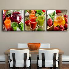 Painting For Dining Room Compare Prices On Juice Pictures Online Shopping Buy Low Price