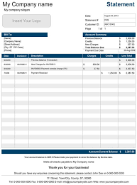 Accounting Spreadsheets For Small Business by Business Statement Template Method Statement Template Free Pdf