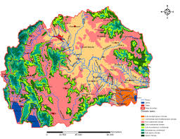 Us Regions Map Map 2 Climate Regions In Macedonia U2014 European Environment Agency