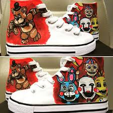 painting fnaf 93 best painted shoes by conartist ireland images on