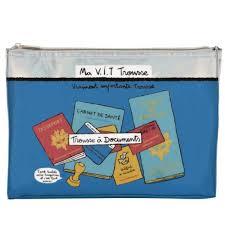 Trousse De Toilette Dlp by Trousse De Rangement Vit à Documents Passeport Livret Voyage