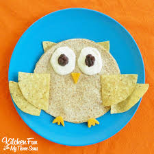 owl quesadilla kitchen fun with my 3 sons