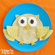 halloween owl owl quesadilla kitchen fun with my 3 sons