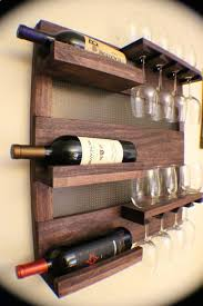Oak Wine Cabinet Sale Summer Sale Rustic Dark Cherry Stained Wall Mounted Wine Rack With