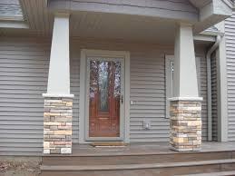 Tiger Gate Ballard Estate Craftsman Style Stone Columns Special Details By Dickinson Homes
