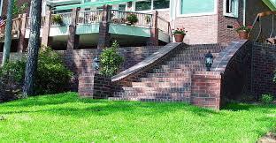 Brick Stairs Design Brick Retaining Wall Steps Easy Street Pinterest Retaining