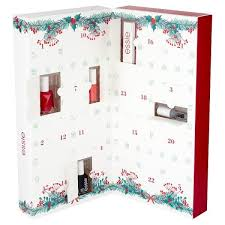 advent calendar essie nail advent calendar 24 day christmas countdown