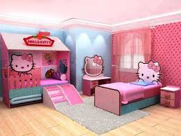 incredible girls bedroom hello kitty decorating with recessed