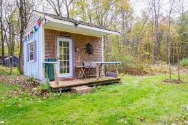 picture perfect off grid tiny house for rent in new york tiny houses