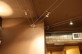 Low Voltage Ceiling Lights Design With Low Voltage Cable Lighting