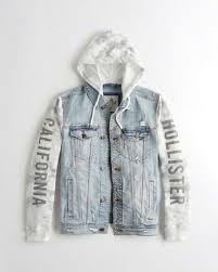 jean sweater jacket guys jackets coats hollister co