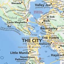 map of ta bay san francisco bay area map according to dictionary boing boing